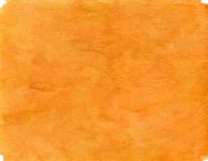 Bright orange handpainted background