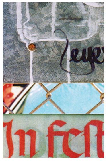 signage typography