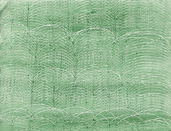 paste paper - green