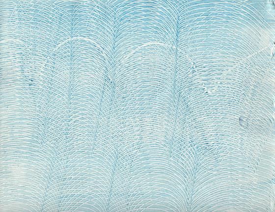 paste paper - light blue