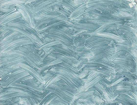 Blue swirly Paste paper